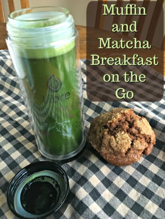 Chocolate Chip Muffin Recipe and Matcha Breakfast To Go
