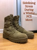 Sidelining Stress During a Winter PCS Move